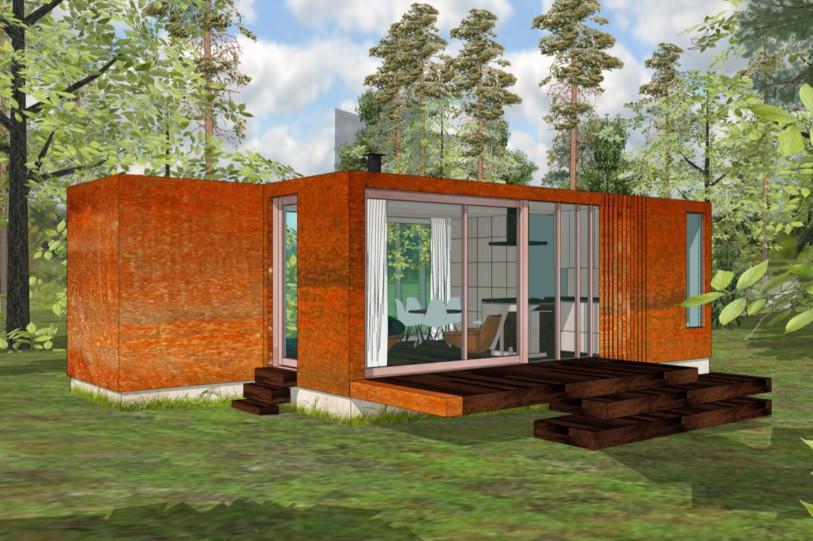 Container woning tim van caubergh for Verplaatsbaar huis